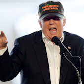There's a surprisingly similar theme in Donald Trump's initial reaction to tragedies