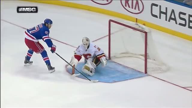 "Benoit Pouliot ""Forsbergs"" for shootout score"