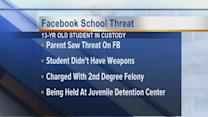 Facebook School Threat