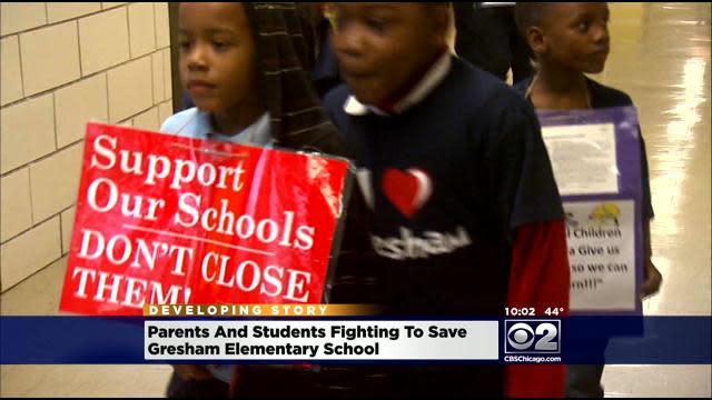 Parents Stage Sit-In At Turnaround School