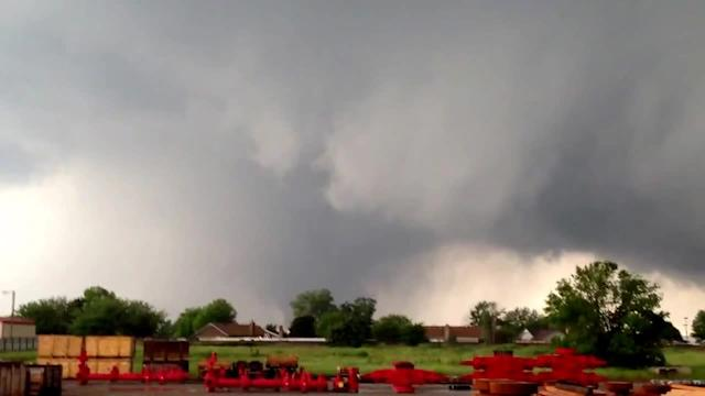 View of the Tornado that hit Moore