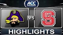 East Carolina vs NC State | 2013 ACC Football Highlights