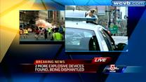 Runners, specators react to explosions