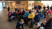 Hockey Fans Watch US Women's Heartbreaking Loss In Bedford