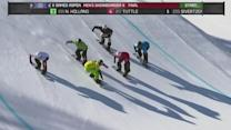 Wins for Jacobellis and Holland at X-Games Snowboard Cross