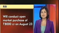 RBI to conduct open market purchase of Rs 8000 crore