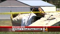 5 Killed In Small Plane Crash At Erie Airport