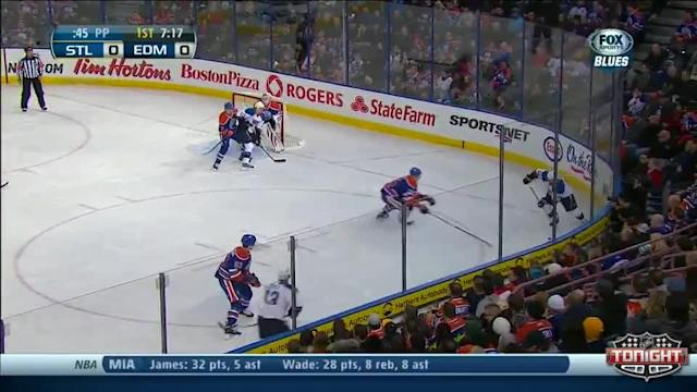 St. Louis Blues at Edmonton Oilers - 01/07/2014