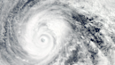 Is there a relation between fewer Atlantic hurricanes and more Pacific typhoons?