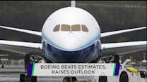 Boeing profits flying high; Yahoo jumps on beat; J&J working on Ebola vaccine