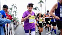 Holy Moly! It's Harriet Completing a Marathon at  Age 92