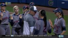 Florida softball coach apologizes after postgame tussle with Auburn player