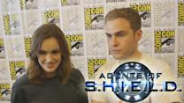 Agents of SHIELD's Elizabeth Henstridge & Iain De Caestecker Talks Season 2 - Comic Con 2014