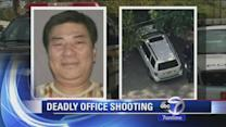Suspect's car found in workplace shooting