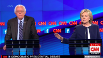 Clinton and Sanders trade jabs over Syria and their Iraq War votes