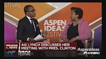 AG Lynch discusses Pres. Clinton meeting