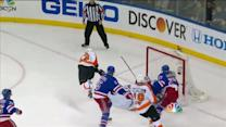 Voracek uses strong move to beat Lundqvist