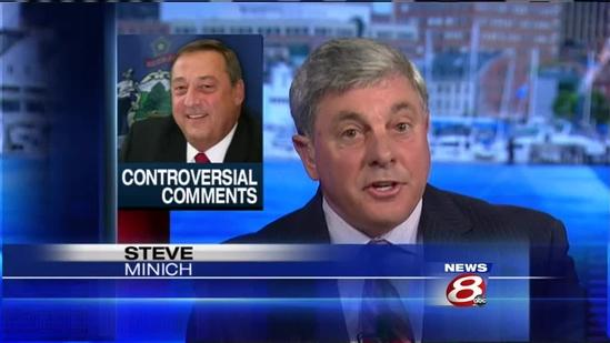 Gov. LePage slams Democratic lawmaker, promises to veto budget.