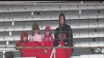 Cool weather doesn't deter fans at IMS