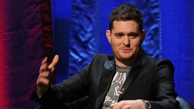 Michael Buble Braces for Baby Boy