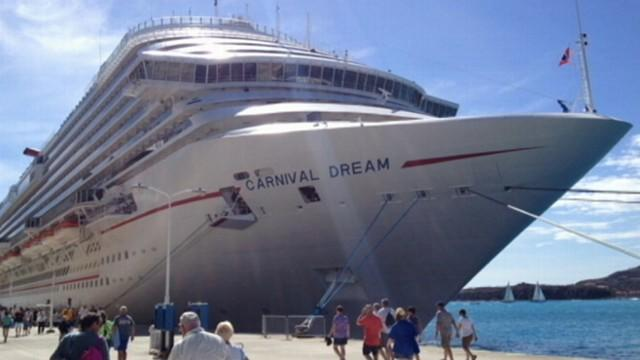 Carnival Cruise Ship Stranded in the Caribbean