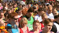 Headlines at 8:30: Runners in Britain pay tribute to Boston
