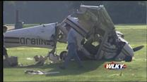 Three teens in serious condition after plane crash