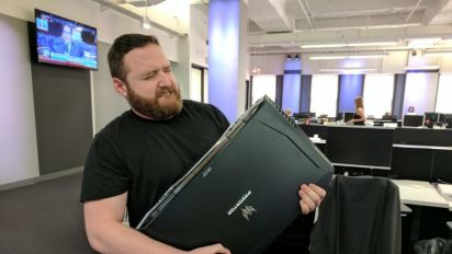 19-pound laptop is a gamer's dream brought to live