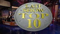 Top Ten Lesser-Known Labors of Hercules - David Letterman