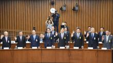 South Korea's Park digs in, as tycoons deny seeking favors