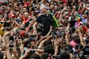 Brazil's freed leftist leader Lula rallies supporters