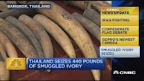 CNBC update: 440 pounds of ivory found