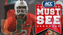 Stacy Coley Returns Kickoff 88 Yards For Touchdown | ACC Must See Moment