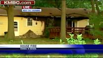Fire damages Gardner home