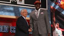 A surprising night at the NBA Draft