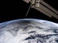 Watch a Solar Eclipse Being Projected Onto Earth From Space