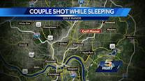 Golf Manor couple shot while sleeping in bed