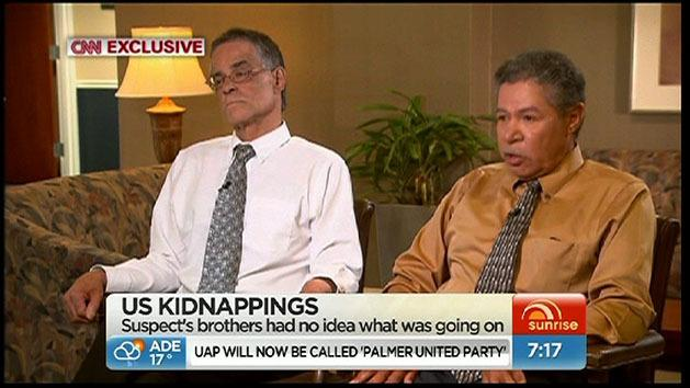 Brothers of alleged kidnapper speak out