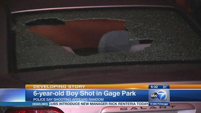 Brian Fernandez, 6, in serious condition after Gage Park shooting