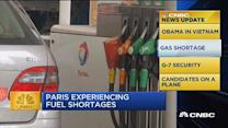 CNBC update: Paris fuel shortages