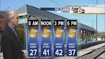 Above average temps, partly sunny skies for Tuesday