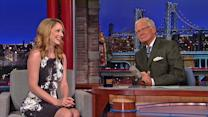 Judy Greer's Ape Mistake - David Letterman