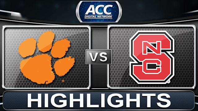 Clemson vs NC State | 2013 ACC Football Highlights