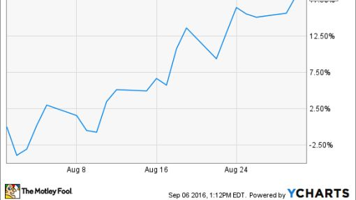 Why Blue Nile Inc Stock Soared 18% in August