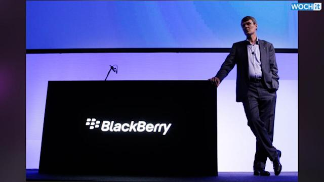 BlackBerry CEO: We Won't Make Phones If We Can't Make Money