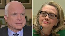 McCain: I'm not satisfied with Hillary's Benghazi answers