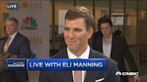 Eli Manning: If it's helping children, I'm onboard
