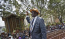 The Latest: Kenya's opposition targets election commission