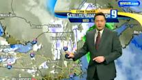 Some snow flurries possible