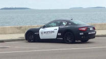 $100,000 Maserati Painted Like A Police Car